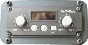 Dual channel radio receiver
