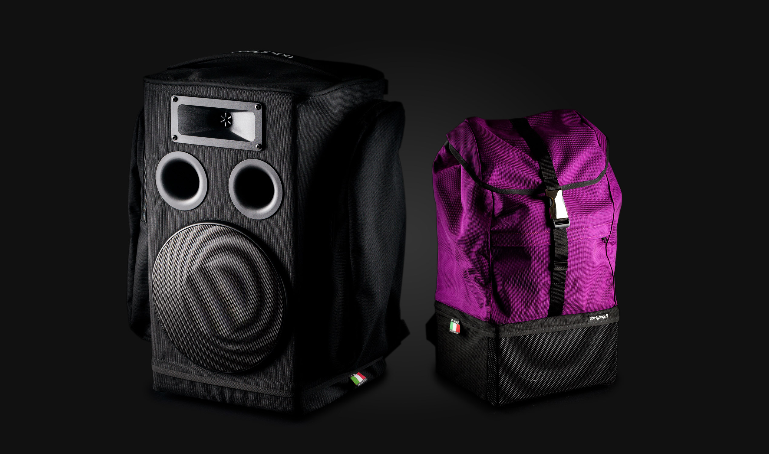 Partybag - Professional Wearable Battery Powered Loudspeaker